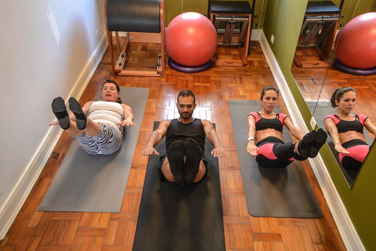 Aula Pilates em Sp na Santa Efigênia - Estúdio de Pilates