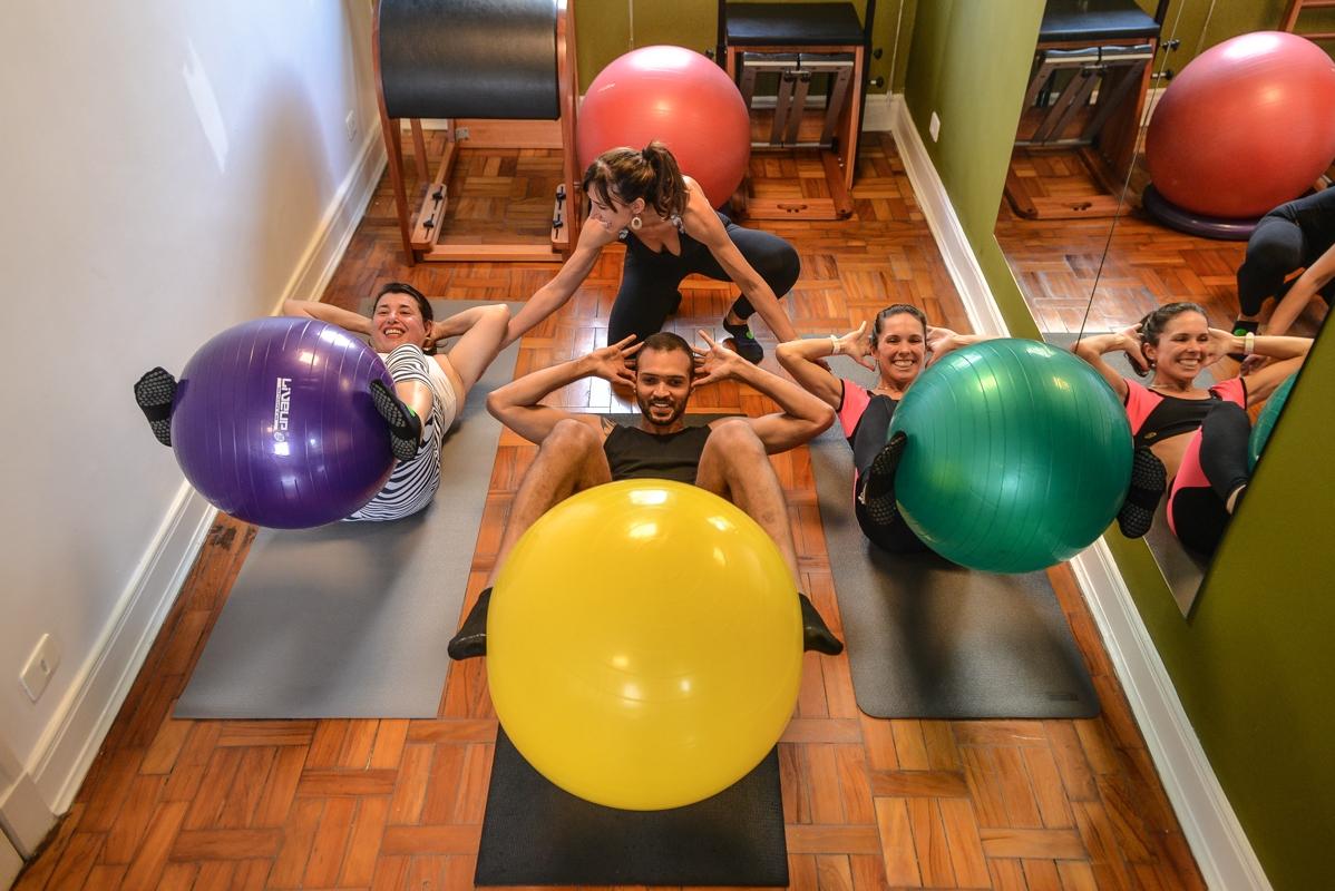 Onde Encontro Aulas Pilates em Sp em Santa Cecília - Pilates para Lombar