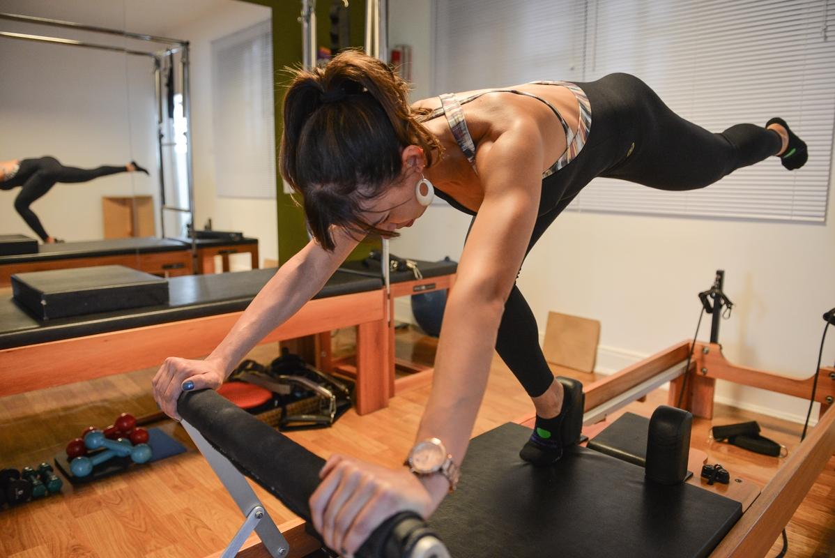 Pilate para Atleta Ana Rosa - Academia de Pilates