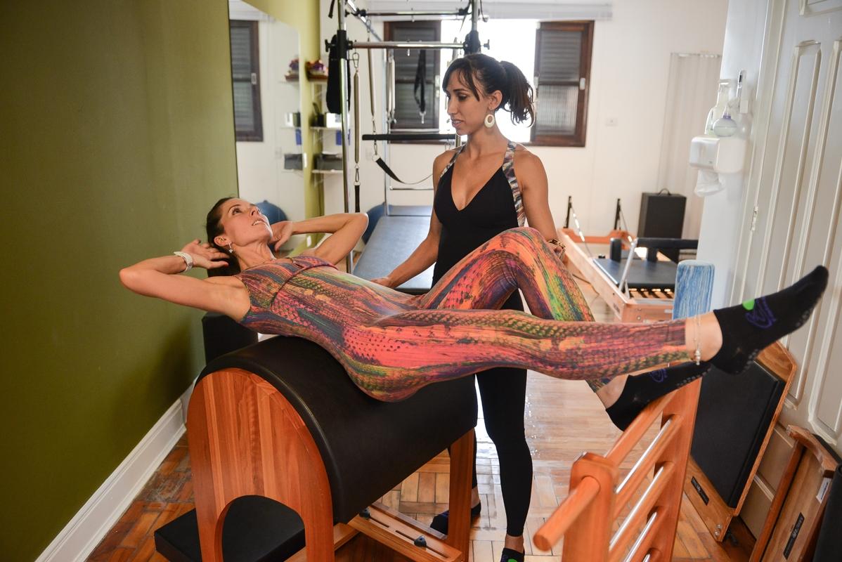 Pilates para Lombar Preço na Bela Vista - Aula Experimental de Pilates
