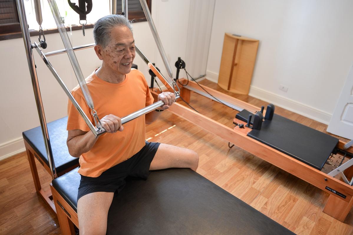 Pilates Tradicional no Centro - Pilates para Stress