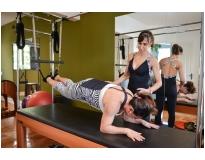 pilates para joelho na Saúde